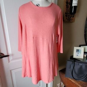 NEW B Collection Bobeau Curvy Tunic Sweater  TREND